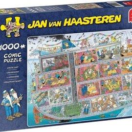 Jumbo Jan van Haasteren puzzel - Cruiseschip (1000 stukjes)