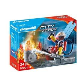 Playmobil Playmobil - Cadeauset Brandweer (70291)