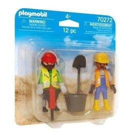 Playmobil Playmobil - DuoPack Bouwvakkers (70272)