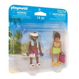 Playmobil Playmobil DuoPack Vakantiegangers (70274)
