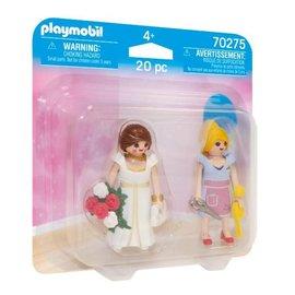 Playmobil Playmobil - DuoPack Prinses en Kleermaker (70275)