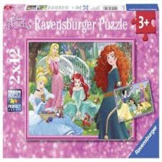 Ravensburger Ravenburger Puzzel Disney Princess 2x12