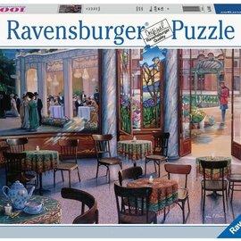 Ravensburger Ravensburger puzzel cafebezoek (1000)