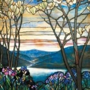 Piatnik Piatnik Puzzel Magnolias and Irises - Louis Comfort Tiffany (1000 stukjes)
