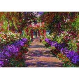 Piatnik Piatnik Puzzel Monets Garten in Giverny - Claude Monet (1000 stukjes)