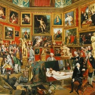 Piatnik Piatnik Puzzel Tribuna of the Uffizi - Johan Zoffany (1000 stukjes)
