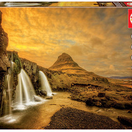 Educa Educa Puzzel Kirkjufellsfoss Waterfall, Iceland (1000 stukjes)