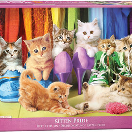 Eurographics Eurographics puzzel Kitten Pride (1000 stukjes)