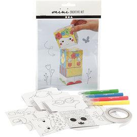 Mini Creatieve Set, stapelblokken - prinsessen