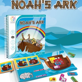 SmartGames SmartGames - Magnetic Travel Games - Noah's Ark