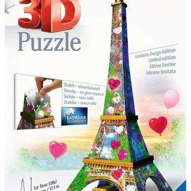 Ravensburger Ravensburger 3D Puzzel Eiffeltoren Love Edition (224 stukjes)
