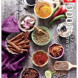 Educa Educa puzzel Assortes Spices (1000 stukjes)