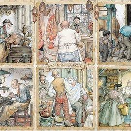 Jumbo Jumbo puzzel Anton Pieck - De Ambachtslieden (1000 stukjes)