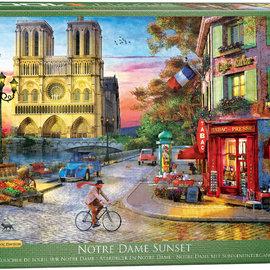 Eurographics Eurographics puzzel Notre Dame Sunset (1000 stukjes)