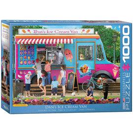 Eurographics Eurographics puzzel Dan's Ice Cream Van (1000 stukjes)