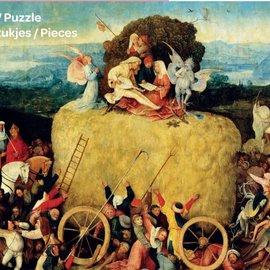 Puzzelman De Hooiwagen - Jheronimus Bosch (1000 stukjes)