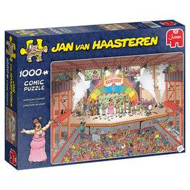Jumbo Jan van Haasteren puzzel - Eurosong wedstrijd (1000 stukjes)