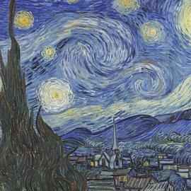 Wentworth Wentworth houten puzzel - The Starry Night, Vincent van Gogh (250 stukjes)