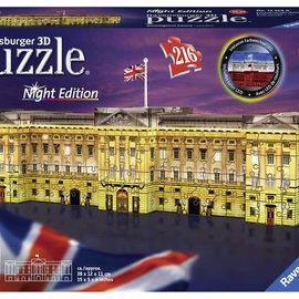 Ravensburger Ravensburger 3D Puzzel Buckingham Palace Londen nachteditie (216 stukjes)