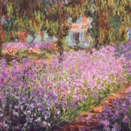 Wentworth Wentworth houten puzzel - The artist's garden in Giverny, Claude Monet (140 stukjes)
