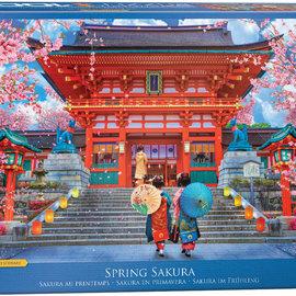 Eurographics Eurographics puzzel Spring Sakura (1000 stukjes)