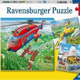 Ravensburger Ravensburger puzzel Boven de wolken (3x 49 stukjes)