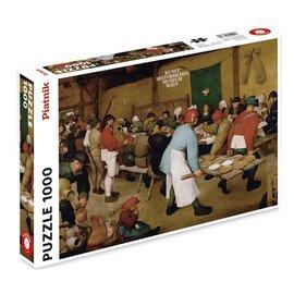 Piatnik Piatnik puzzel Peasant Wedding (1000 stukjes)