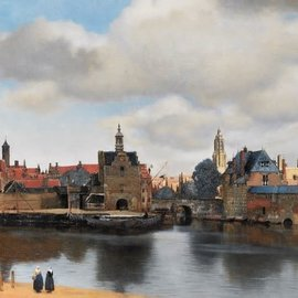 Puzzelman Puzzelman puzzel Gezicht op Delft - Johannes Vermeer (1000 stukjes)