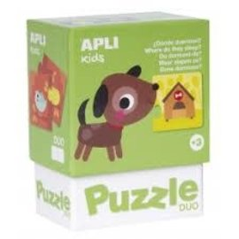 APLI APLI - Hond duo puzzel (24 delig)
