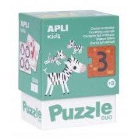 APLI APLI - Zebra duo puzzel (24 delig)