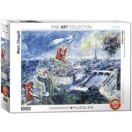 Eurographics Eurographics puzzel Le Bouquet de Paris  (1000 stukjes)
