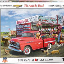 Eurographics Eurographics puzzel 1958 Chevrolet Apache Greg Giordano (1000 stukjes)