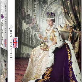 Eurographics Eurographics puzzel Queen Elizabeth II (1000 stukjes)