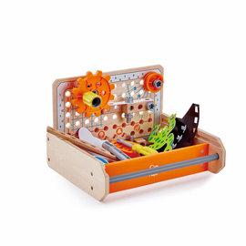 Hape Hape Junior Inventor Experimenteer gereedschapskoffer