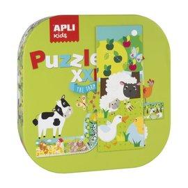 APLI APLI - Boerderij XXL puzzel (12 delig)