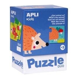 APLI APLI - Egel duo puzzel (24 delig)