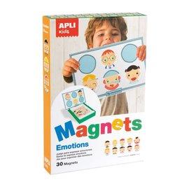 APLI APLI - Emoties Magneetkaart (30 magneten)