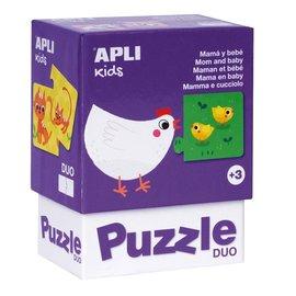 APLI APLI - Kip duo puzzel (24 delig)
