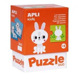 APLI APLI - Konijn duo puzzel (24 delig)