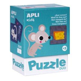 APLI APLI - Muis duo puzzel (24 delig)