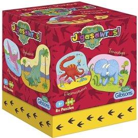 Gibsons Gibsons puzzel Dinosaur Jigasawrus (4-16 x 8 stukjes)