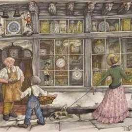 Jumbo Jumbo puzzel Anton Pieck - De Klokkenwinkel (1000 stukjes)