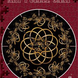 Art Puzzel Art puzzel Klok dans met de nacht (570 stukjes)