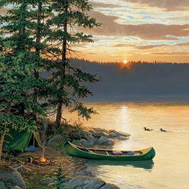 Cobble Hill Cobble Hill puzzel Canoe Lake (1000 stukjes)