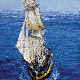 Art Puzzel Art puzzel Sailing boat (500 stukjes)