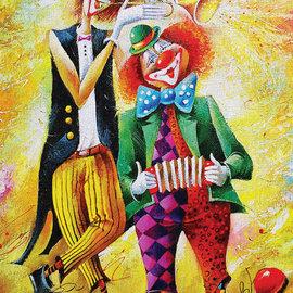 Art Puzzel Art puzzel The funny twain (500 stukjes)