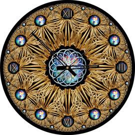 Art Puzzel Art puzzel Klok Golden (570 stukjes)