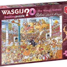 Jumbo Wasgij puzzel Destiny 4 Retro - De Wasgij spelen (1000 stukjes)