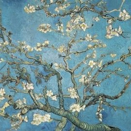 Wentworth Wentworth houten puzzel - Almond Blossom, 1890, Vincent van Gogh (140 stukjes)