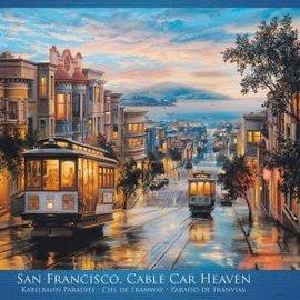 Eurographics Eurographics puzzel San Francisco Cable Car Heaven (1000 stukjes)